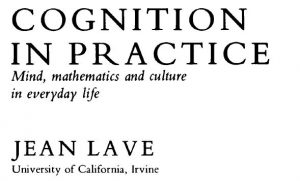 Cognition and practice