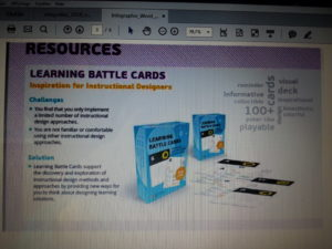 Learning Battle Cards